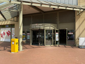 Ein- und Ausgang mit Postbriefkasten - Werder Karree Einkaufszentrum in Bremen-Habenhausen