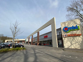 Supermarkt und Ladenzeile in Bremen-Kattenturm