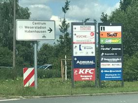 Auf der Habenhauser Brückenstraße wird es ab August 2020 zu Verkehrsbehinderungen kommen