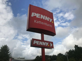 Penny-Markt in Kattenturm (Foto: 08-2018, Jens Schmidt)