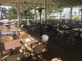 Cafe del Sol - Außenterrasse