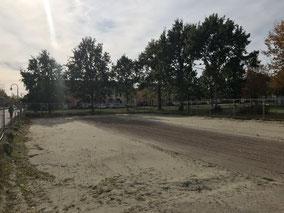 Bauvorhaben an der Hans-Hackmann-Straße in Arsten (Foto: 08.10.2018)