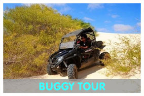 Buggy in den Dünen von Boa Vista mit Link zur Buggy Tour von Boa Vista Tours