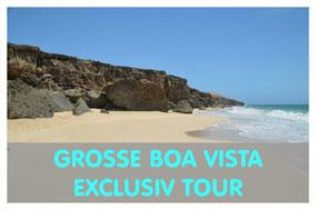Praia Varandinha auf Boa Vista mit Link zur großen Boa Vista Exclusiv Tour von Boa Vista Tours