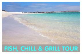 Ilheu de Sal Rei vor Boa Vista mit Link zur Fish, Chill & Grill Tour von Boa Vista Tours