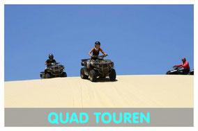 Quad in den Dünen auf Boa Vista mit Link zur Quad Tour von Boa Vista Tours