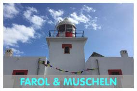 Leuchtturm Morro Negro auf Boa Vista mit Link zur Farol und Mucheln Tour von Boa Vista Tours