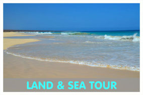 Praia de Santa Monica auf Boa Vista mit Link zur Land & Sea Tour von Boa Vista Tours