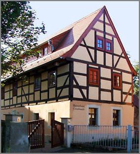Heimathaus Cossebaude ,           Quelle: Eigenes Foto