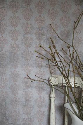 Papier peint de Jeanne d'Arc Living - Grey/Rose