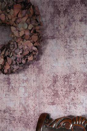 Papier peint de Jeanne d'Arc Living - Rose