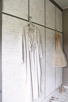 Papier peint de Jeanne d'Arc Living - Fond crème