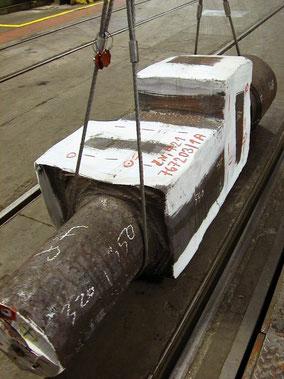 Der Rolling, ca. 10 Tonnen