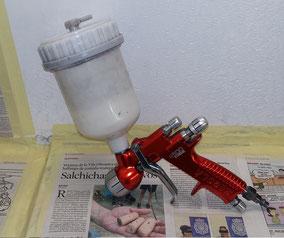 Pistola Sagola: Para Agua Base