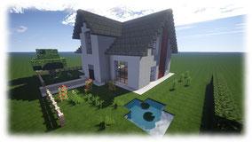 Minecraft House 1