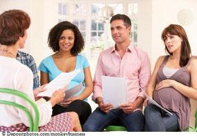 Geburtsvorbereitungskurs in kleinen Gruppen