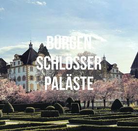 Rund um den Bodensee gibt es einige Burgen, Schlösser und Paläste. Hier gehts zu unseren Highlights.