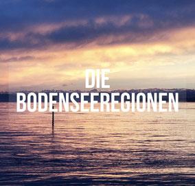 Der Bodensee teilt sich im Wesentlichen in fünf Regionen auf. Welche das sind und was die jeweilige Region auszeichnet, erfahrt ihr hier.