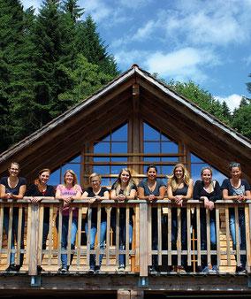 Junggesellenabschied Ideen Männer Frauen Blockhaus