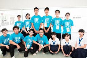 来年の開催県 佐賀県立佐賀西高校の皆さん