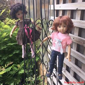 Dianna Effner, garden trellis, Daphne's Garden