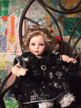 "Marie Osmond 6"" Porcelain Blonde Baby"
