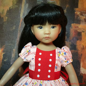 Dianna Effner Little Darling, Shared Passions Prototype Ana, Dianna Effner's OOAK Ana, Dolltown's Anna Zoey