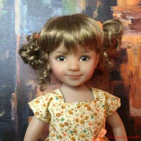 Dianna Effner Little Darling, Helen Skinner OOAK Little Darling, Dolltown's Tink