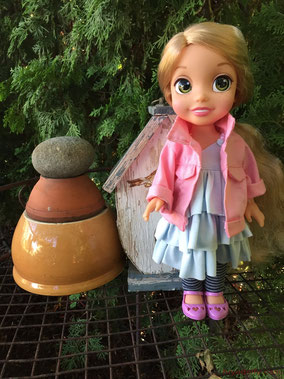 Disney Toddler Princess Rapunzel 14""