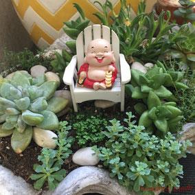 Little Buddha, Fairy Garden
