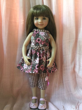 Little Darling by Dianna Effner, in a capri set by Janice Mundy