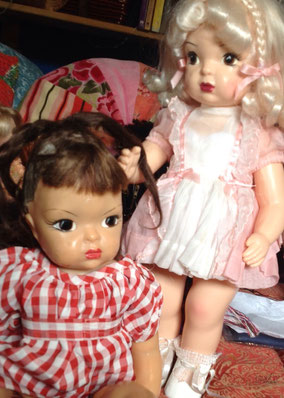 Terri Lee vintage dolls, from 1950's and 1998