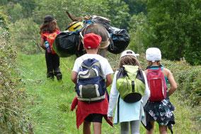 randonnée avec ânes dans les Pyrénées - Nistos