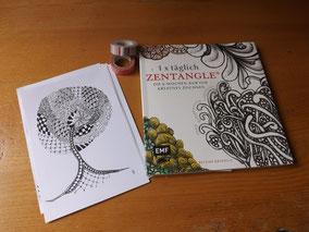 1 x täglich Zentangle  - meine Inspirationsquelle