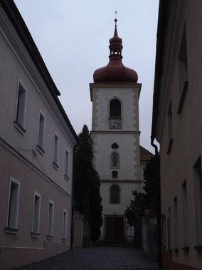 Pfarrkirche St. Barholomäus in Hradek / Grottau Tschechien.
