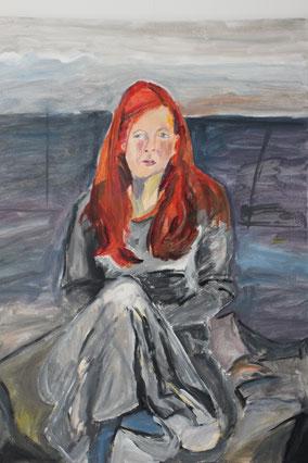 """""""Anna"""", 2015, Acryl, 80 x 60 cm"""