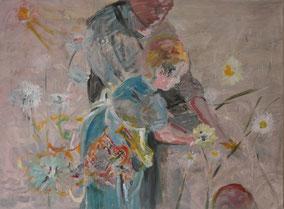 """Charlotte"", 2018, Acryl, 60 x 80 cm"