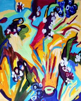 """Inspiration Christiansberg"", 2008, Acryl, 60 x 50 cm"