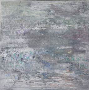 """Winter"", 2020, Acryl, 30 x 30 cm"