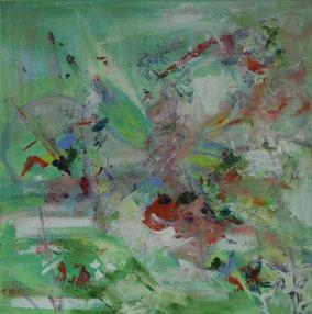 """""""Ohne Titel"""", 2020, Acryl, 30 x 30 cm"""