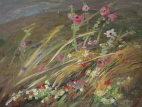 """""""Feld"""", 2020, Acryl, 60 x 80 cm"""