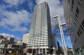 札幌駅北口側からみた外観