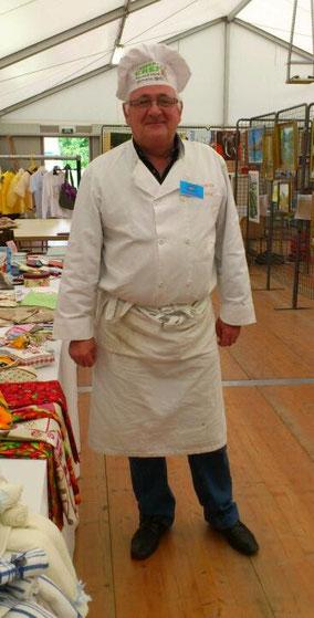 Notre Chef cuisinier à l'exposition du 06 octobre 2013