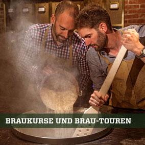 Brauerei-Touren und Braukurse