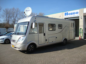 hymer b 614 cl 3.0 multijet 2009