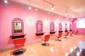 札幌の美容室「ヘアーシャカラ」の店内のご紹介です
