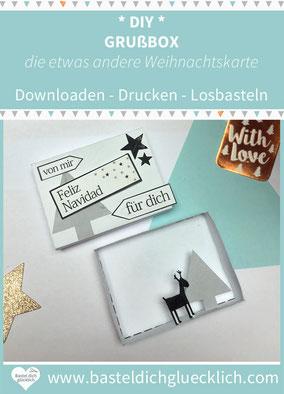Matchbox selber machen, Streichholzschachtel diy, streichholzschachtel weihnachten, streichholzschachtel diy weihnachten, Grußkarte Weihnachten, Weihnachtskarte, Weihnachtskarte basteln, DIY Weihnachtskarte, Weihnachtskarten diy, Weihnachtskarte gestalten