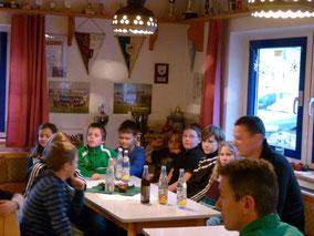 Weihnachtsfeier Jugend 2012