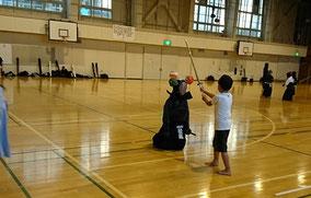 秋の剣道体験会
