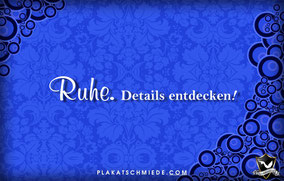 Ornament Ruhe